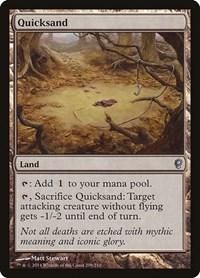 Quicksand, Magic: The Gathering, Conspiracy