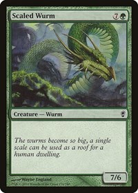 Scaled Wurm, Magic: The Gathering, Conspiracy