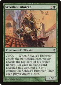 Selvala's Enforcer, Magic, Conspiracy