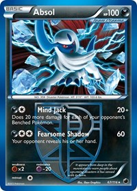 Absol (Team Plasma), Pokemon, Plasma Freeze