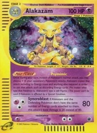 Alakazam (1), Pokemon, Expedition