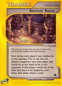 Ancient Ruins, Pokemon, Skyridge