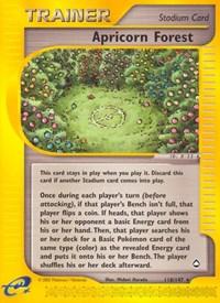 Apricorn Forest, Pokemon, Aquapolis
