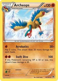 Archeops, Pokemon, Plasma Blast