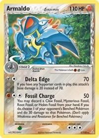 Armaldo (Delta Species), Pokemon, Holon Phantoms