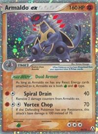 Armaldo ex, Pokemon, Legend Maker