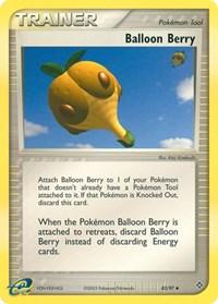 Balloon Berry, Pokemon, Dragon