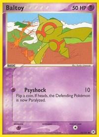 Baltoy (52), Pokemon, Hidden Legends