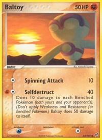 Baltoy, Pokemon, Deoxys