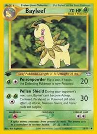 Bayleef (28), Pokemon, Neo Genesis