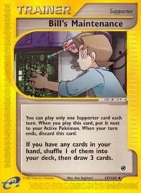 Bill's Maintenance, Pokemon, Expedition