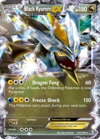 Black Kyurem EX, Pokemon, Boundaries Crossed