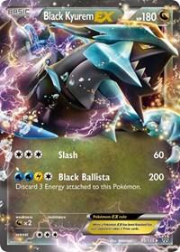 Black Kyurem EX, Pokemon, Plasma Storm