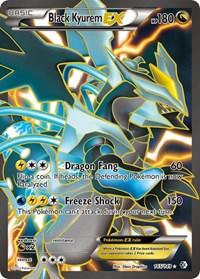 Black Kyurem EX (145 Full Art), Pokemon, Boundaries Crossed