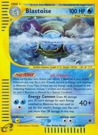 Blastoise (4), Pokemon, Expedition