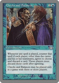 Checks and Balances, Magic: The Gathering, Unglued