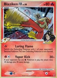 Blaziken FB, Pokemon, Supreme Victors