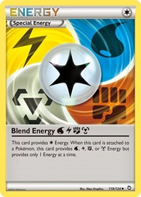 Blend Energy WLFM, Pokemon, Dragons Exalted