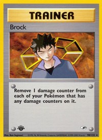 Brock (98), Pokemon, Gym Heroes