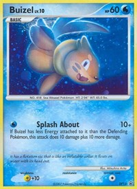 Buizel, Pokemon, Diamond and Pearl Promos