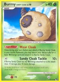 Burmy Sandy Cloak, Pokemon, POP Series 7