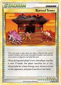 Burned Tower, Pokemon, Undaunted