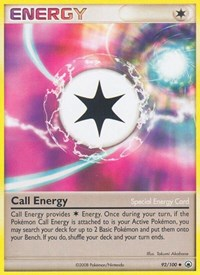 Call Energy, Pokemon, Majestic Dawn