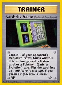 Card-Flip Game, Pokemon, Neo Genesis