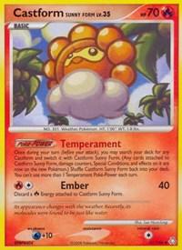 Castform Sunny Form, Pokemon, Legends Awakened