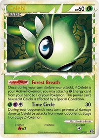 Celebi (Prime), Pokemon, Triumphant