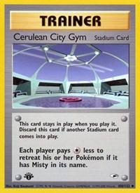 Cerulean City Gym, Pokemon, Gym Heroes