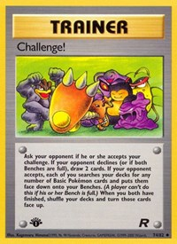 Challenge!, Pokemon, Team Rocket