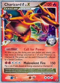 Charizard G Lv.X, Pokemon, Diamond and Pearl Promos