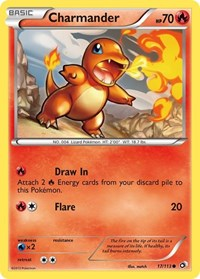 Charmander, Pokemon, Legendary Treasures