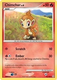 Chimchar, Pokemon, Diamond and Pearl