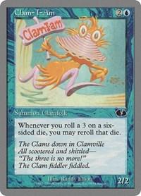 Clam-I-Am, Magic: The Gathering, Unglued