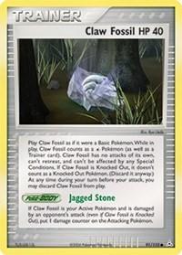 Claw Fossil, Pokemon, Holon Phantoms