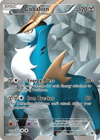 Cobalion (100 Full Art), Pokemon, Noble Victories