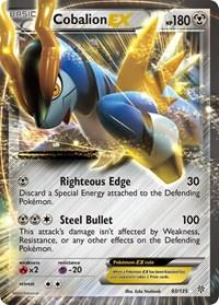 Cobalion EX, Pokemon, Plasma Storm