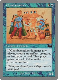 Clambassadors, Magic, Unglued