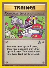Computer Error, Pokemon, WoTC Promo