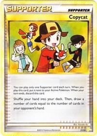 Copycat, Pokemon, HGSS Trainer Kit: Gyarados & Raichu