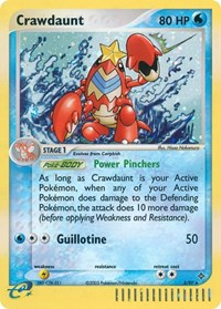 Crawdaunt (3), Pokemon, Dragon
