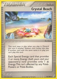 Crystal Beach, Pokemon, Crystal Guardians