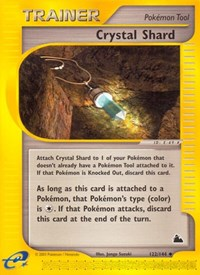 Crystal Shard, Pokemon, Skyridge