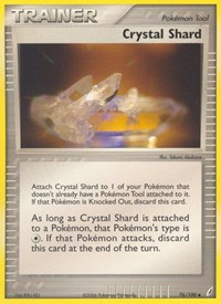 Crystal Shard, Pokemon, Crystal Guardians