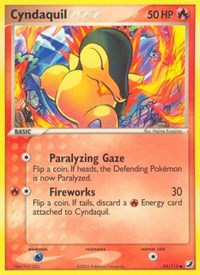 Cyndaquil, Pokemon, Unseen Forces
