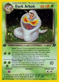 Dark Arbok (2), Pokemon, Team Rocket