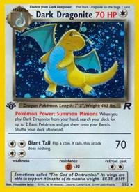 Dark Dragonite (5), Pokemon, Team Rocket