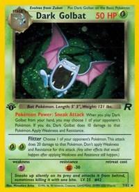 Dark Golbat (7), Pokemon, Team Rocket